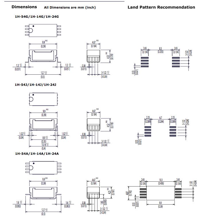 Standard 1H SeriesA