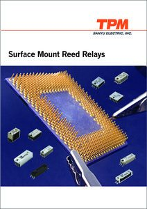 Surface Mount Reed Relays, Sanyu 2017