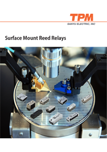 Surface Mount Reed Relays, Sanyu 2018